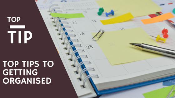 Top tips to being organised, RedRite, Leeds, Virtual Assistant