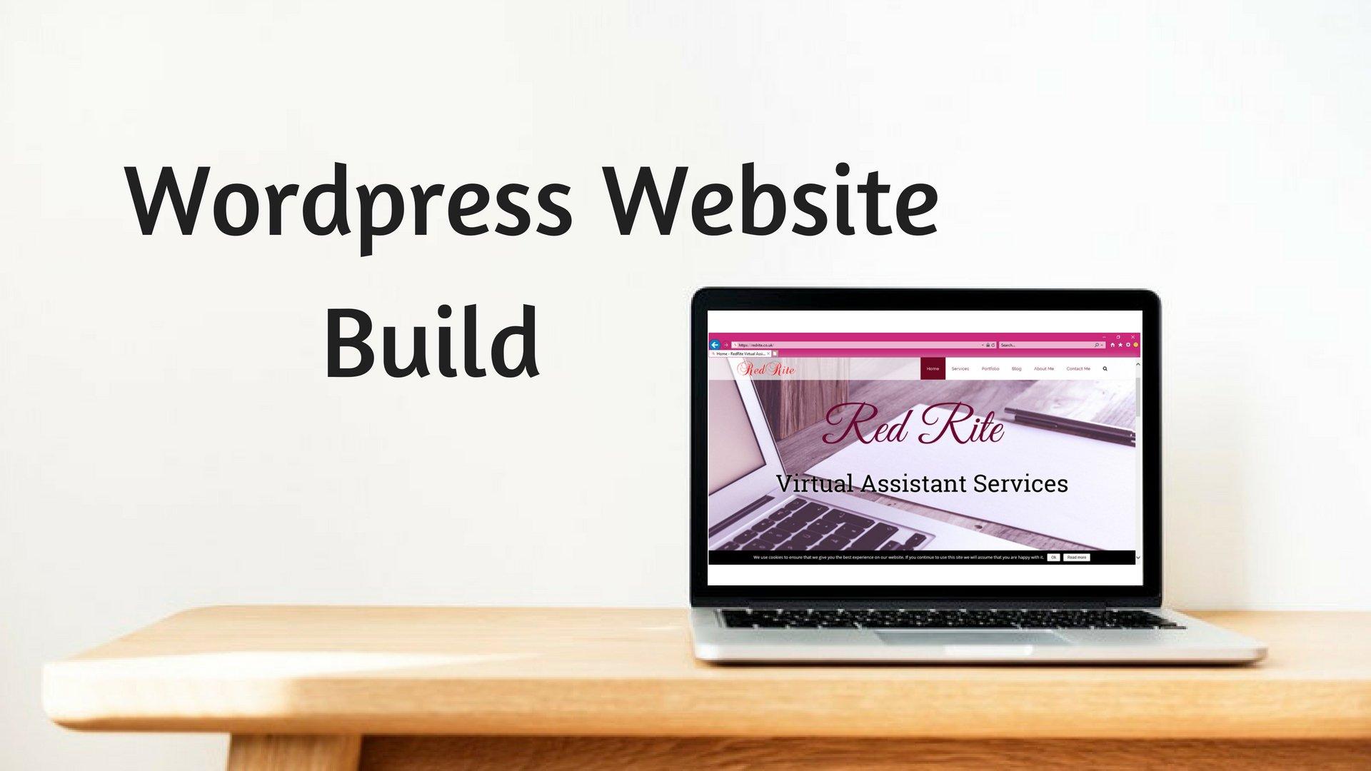 Wordpress Website Builds, RedRite